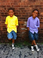 "Kids to Watch: 7yr old twin ""fly guys"" who are marking their territory"